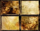 Framed grungy set — Stock Photo