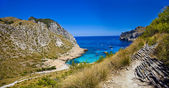 Amazing Mallorca - picturesque turquoise bay. Formentor cape — Stock Photo