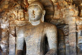 Buddha statue in Polonnaruwa temple - medieval capital of Ceylon,UNESCO World Heritage Site — Stock Photo