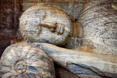 Laying Buddha in Polonnaruwa temple - medieval capital of Ceylon,UNESCO World Heritage Site — Stock Photo