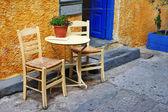 Traditional Greece series - small tavernas — Stock Photo