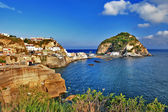 Travel in Italy series - view of sant-angelo, Ischia island — Stock Photo