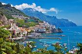 Picturesque Italy series - Amalfi — Stock Photo