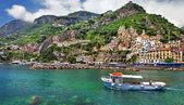 Pitoresca série itália - amalfi — Fotografia Stock