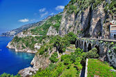 Stanning Amalfi coast — Stock Photo