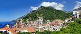 Beautiful Amalfi, panorama of city.- Italy — Stock Photo
