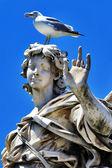 European landmarks. Roman sculpture — Stock Photo