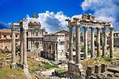Great Roman landmarks - Forums — Stock Photo