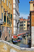Beautiful romantic Venice -artistic picture — Stock Photo