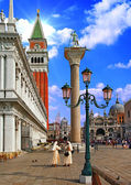 Venice. San Marco square — Stock Photo