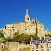 Famous Mont-saint-michel (Normandy) — Stock Photo
