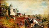 Castillos de Francia (Montresor)-artística imagen retro — Foto de Stock