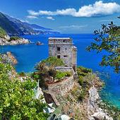 Pictorial Italian coast -Monterosso — Stock Photo