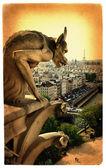 Parisian details- artistic toned picture — Stock Photo