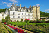 Villandry castle - Loire valley — Stock Photo