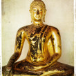 Golden Buddha - Stockfoto