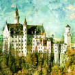 Neuschwanstein Castle in Germany — Stock Photo #12795803