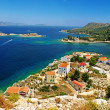 Stock Photo: Beautiful greek islands - Kastelorizo