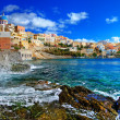 Beautiful Greek islands series - Syros - Stock Photo