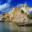 Beautiful Greek islands series - Syros — Stock Photo #12797100
