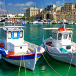 Greek boats - artistic picture — Stock Photo