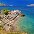 Stock Photo: Pictorial beaches of Greece - Hydrisland