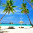 Romantic tropical vacation — Stock Photo