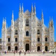 Milan dome - italian landmarks series — Stock Photo
