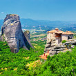 Miraculous monastery, Meteora, Greece - Stock Photo