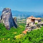 Miraculous monastery, Meteora, Greece — Stock Photo #12798360