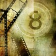 Vintage movies background — Foto Stock