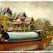 Pictorial Thailand - artwork in painting style — ストック写真