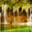 Mystic waterfall - Stock Photo