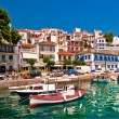Picteresque town in Greece — Stock Photo
