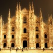 Milan cathedral - italian landmarks series-artistic toned picture — Stock Photo #12798807