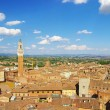 View of medieval town Siena (Toskany) — Stock Photo
