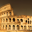 Colosseum - italian landmarks series-artistic toned picture — Stock Photo #12798957