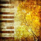 Autumn music — Stock Photo