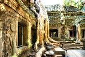 Templo antigo taprom - obras de arte em estilo retro — Fotografia Stock