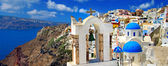 Colors of Santorini, Greek series — Stock Photo