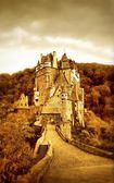 Beautiful Eltzburg castle (Germany) - artistic toned picture — Stock Photo