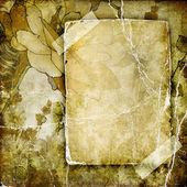 Vintage background with blank page — Fotografia Stock