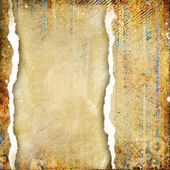 Vintage golden framed background — Stock Photo