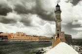 маяк - художественная фотография тонированное — Стоковое фото
