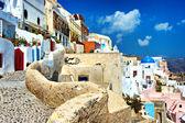 Architecture of Santorini — Stock Photo