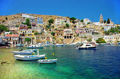 Amazing Greece - pictorial island Symi — Stock Photo