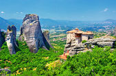 Miraculous monastery, Meteora, Greece — Stock Photo