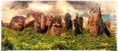 Mucizevi taşlar meteora - yunanistan, sanatsal fotoğraf — Stok fotoğraf