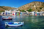 Isola milos tradizionale — Foto Stock