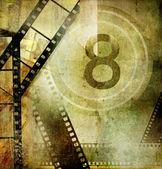 Vintage movies background — Stock Photo